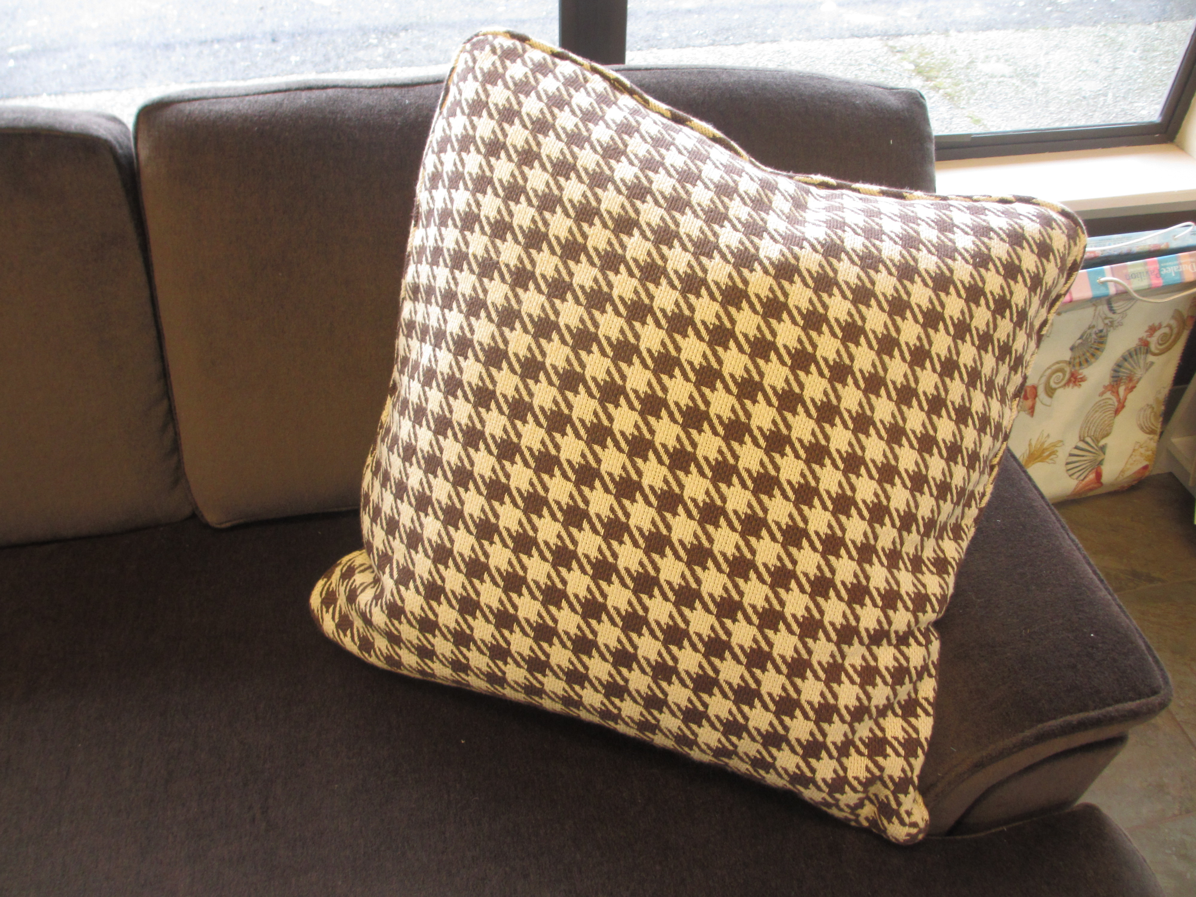 Checkered Pillow