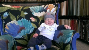 Brock on Flower chair 300x169 Welcome Spring With All Things New