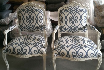 Shabby Chic Flourish Armchairs
